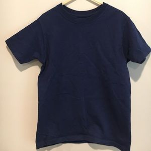 Boys Dark Blue tee shirt